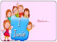 Personalizare felicitari cu text de Ziua Copilului 1 Iunie La multi ani_1