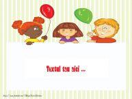 Personalizare felicitari cu text de Ziua Copilului 1 Iunie 1 iunie_4