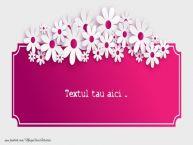 Personalizare felicitari cu text de Ziua femeii 8 martie 8 Martie-10