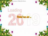 Personalizare felicitari cu text de Anul Nou Anul Nou