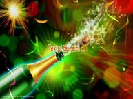 Personalizare felicitari cu text de Anul Nou Artificii