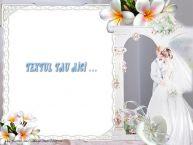 Personalizare felicitari cu text de Casatorie Casatorie Backgroud