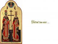 Personalizare felicitari cu text de Sfintii Constantin si Elena Constantin si Elena 1