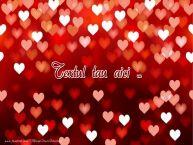 Personalizare felicitari cu text de dragoste Felicitare de dragoste