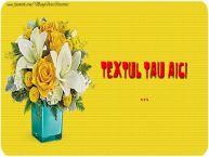 Personalizare felicitari cu text de Florii Florii-5