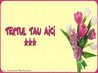Personalizare felicitari cu text de Florii Florii