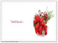 Personalizare felicitari cu text de la multi ani Buchet de flori