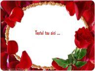 Personalizare felicitari cu text de la multi ani La multi ani cu Flori