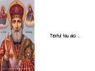 Personalizare felicitari cu text de Mos Nicolae Sfantul Nicolae