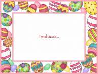 Personalizare felicitari cu text de Pasti Paste Fericit!
