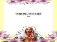 Personalizare felicitari cu text de Sfanta Maria Mica