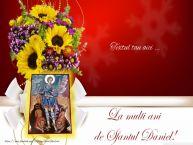 Personalizare felicitari cu text de Sfântul Daniel Sfantul Daniel