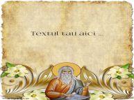 Personalizare felicitari cu text de Sfantul Ilie