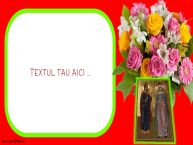 Personalizare felicitari cu text de Sfintii Adrian si Natalia