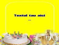 Personalizare felicitari cu text de zi de nastere