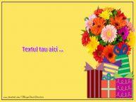 Personalizare felicitari cu text de zi de nastere La multi ani - pers 7