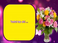 Personalizare felicitari cu text de Valentines Day Ziua indragostitilor