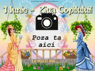 Personalizare felicitari de Ziua Copilului 1 Iunie   Trei printese. La multi ani ...