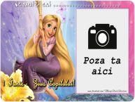 Personalizare felicitari de Ziua Copilului 1 Iunie   Felicitare cu Rapunzel. La multi ani ...