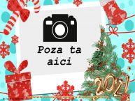 Personalizare felicitari de Anul Nou   ... - Rama foto de Anul Nou