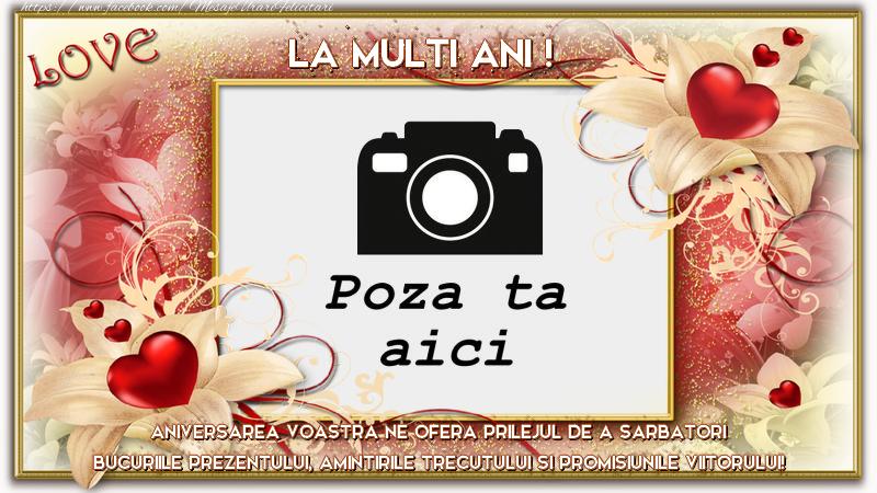 Personalizare felicitari de Casatorie | Aniversarea casatorei!