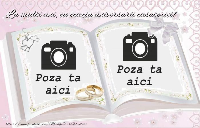 Personalizare felicitari de Casatorie | La multi ani, cu ocazia aniversarii casatoriei!