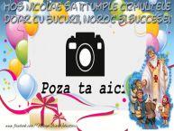 Personalizare felicitari de Mos Nicolae | Mos Nicolae sa iti umple cizmulitele doar cu bucurii, noroc si succese!