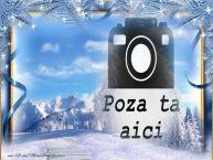 Personalizare felicitari    Peisaj de iarna