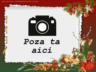 Personalizare felicitari  | Rama foto de Craciun