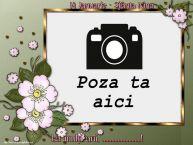 Personalizare felicitari de Sfânta Nina | 14 Ianuarie - Sfânta Nina La mulți ani, ...! - Rama foto