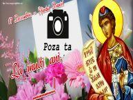Personalizare felicitari de Sfântul Daniel | 17 Decembrie - Sfântul Daniel La multi ani, ...! - Rama foto