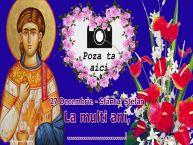 Personalizare felicitari de Sfântul Ștefan   27 Decembrie - Sfântul Ștefan La multi ani, ...! - Rama foto