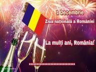Personalizare felicitari Ziua Nationala a Romaniei | 1 Decembrie Ziua națională a României La mulți ani, România! ...!