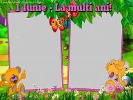 Personalizare felicitari de Ziua Copilului 1 Iunie | 1 Iunie - La multi ani!