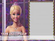 Personalizare felicitari de Ziua Copilului 1 Iunie   Poza ta cu Barbie!