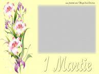 Personalizare felicitari de Martisor 1 Martie | 1 Martie