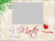 Personalizare felicitari de Martisor 1 Martie | Felicitare de 1 Martie cu poza ta
