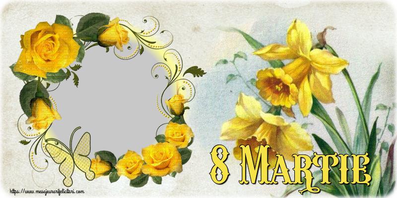 Personalizare felicitari de Ziua femeii 8 martie   8 Martie - Rama foto de 8 Martie