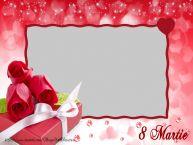Personalizare felicitari de Ziua femeii 8 martie   Felicitare de 8 Marie cu poza