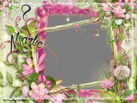 Personalizare felicitari de Ziua femeii 8 martie | 8 Martie - Rama foto de 8 Martie