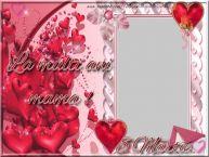 Personalizare felicitari de Ziua femeii 8 martie   8 Martie. La multi ani, mama !