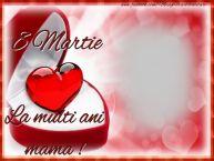 Personalizare felicitari de Ziua femeii 8 martie   La multi ani, mama.