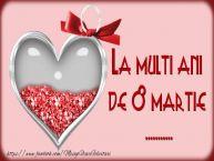 Personalizare felicitari de Ziua femeii 8 martie | La multi ani de 8 martie ...