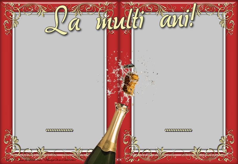 Personalizare felicitari de Anul Nou | La multi ani, ..., ...