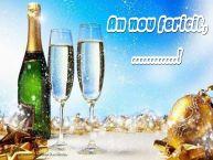 Personalizare felicitari de Anul Nou | An nou fericit, ...!