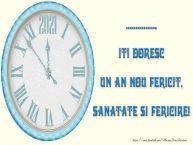 Personalizare felicitari de Anul Nou | 2020, ..., iti doresc un an nou fericit, sanatate si fericire!