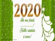 Personalizare felicitari de Anul Nou | An nou fericit, ...! Multă sănătate si noroc!