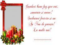 Personalizare felicitari de Anul Nou | Mesajul tau de Anul Nou pentru prieteni