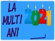 Personalizare felicitari de Anul Nou | La multi ani 2020 ...!