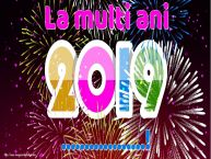 Personalizare felicitari de Anul Nou   La multi ani ...!
